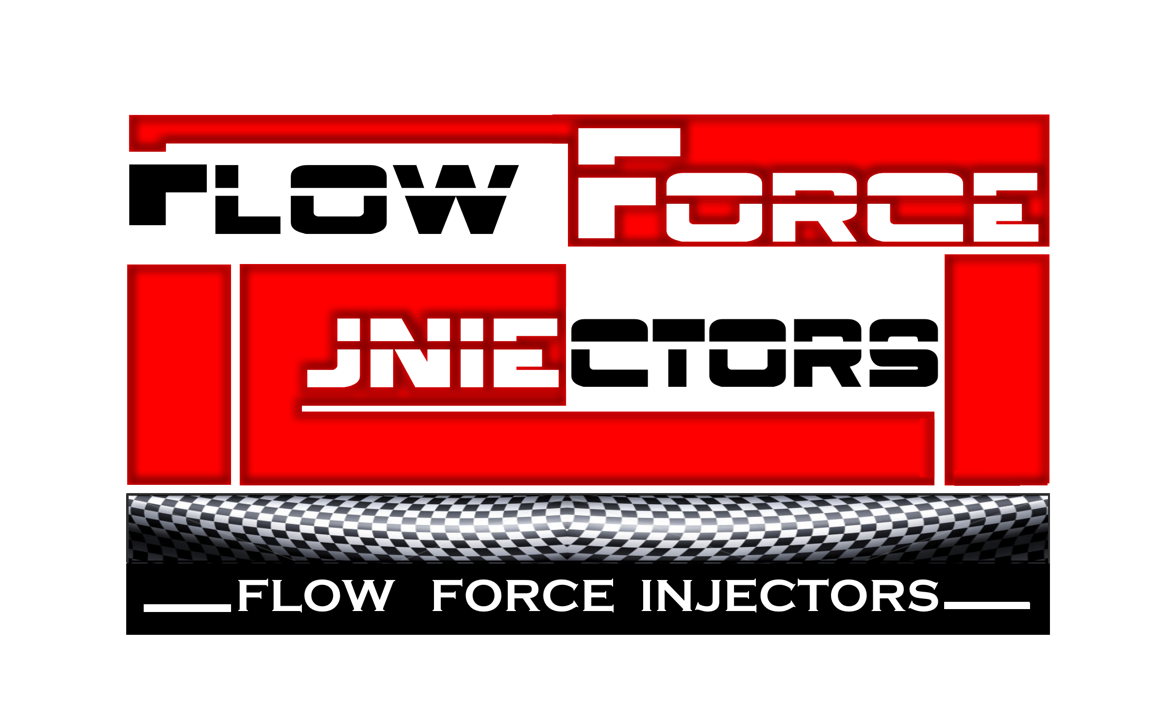 Logo Design by Roberto Bassi - Entry No. 15 in the Logo Design Contest Fun Logo Design for Flow Force Injectors.
