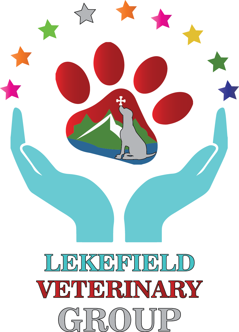 Logo Design by Umair ahmed Iqbal - Entry No. 76 in the Logo Design Contest Inspiring Logo Design for Lakefield Veterinary Group.