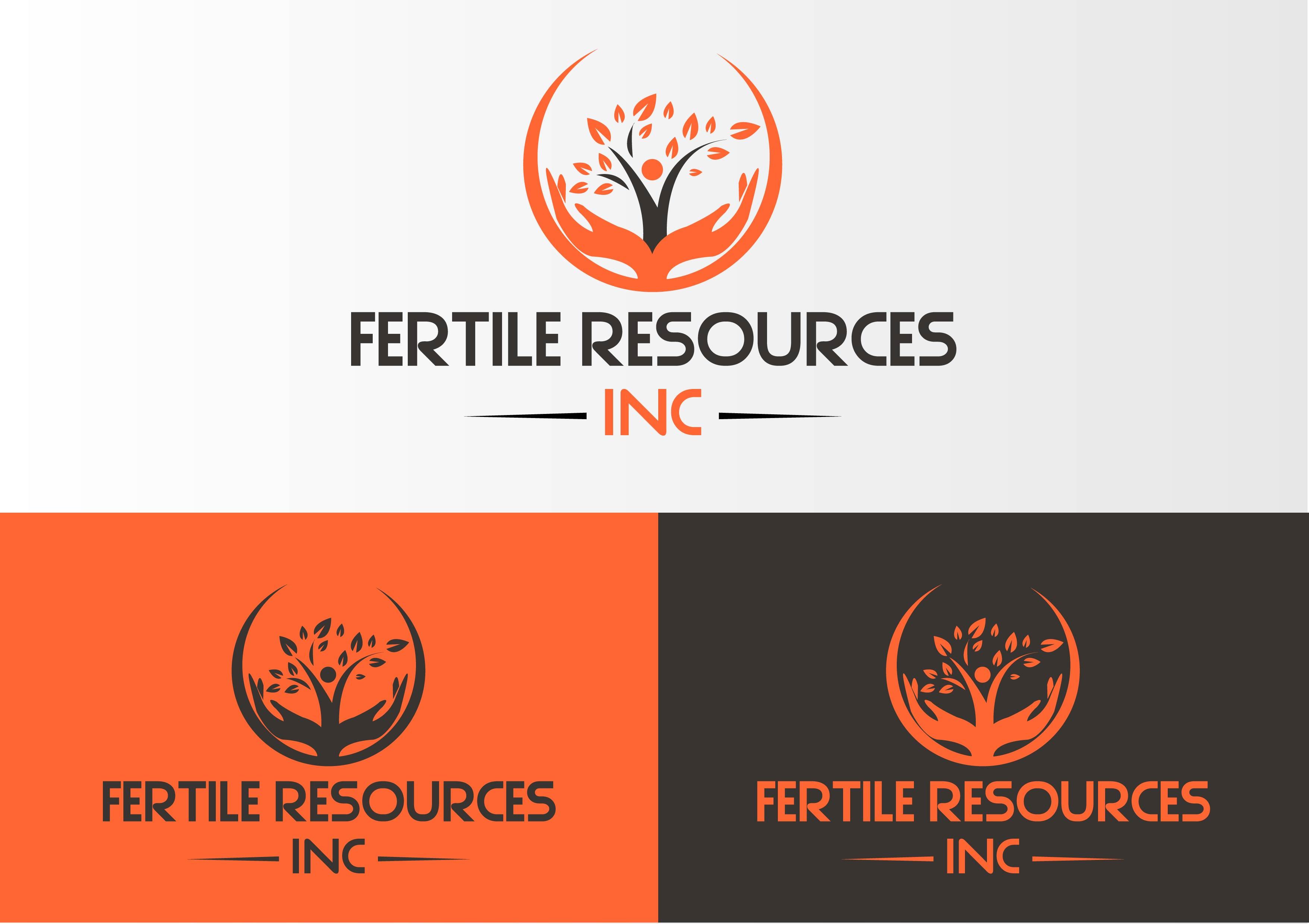 Logo Design by Private User - Entry No. 128 in the Logo Design Contest Fertile Resources, Inc. Logo Design.