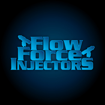 Logo Design by Private User - Entry No. 17 in the Logo Design Contest Fun Logo Design for Flow Force Injectors.