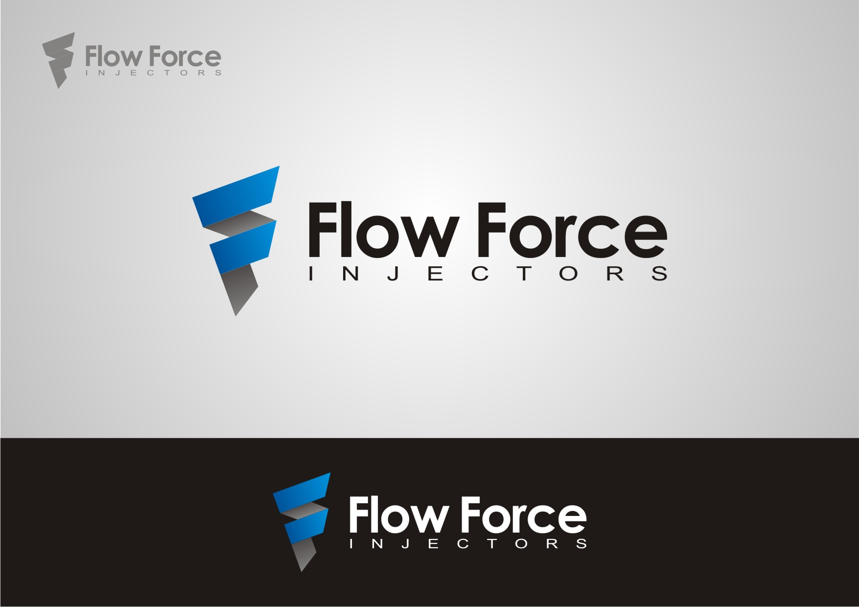 Logo Design by Private User - Entry No. 21 in the Logo Design Contest Fun Logo Design for Flow Force Injectors.