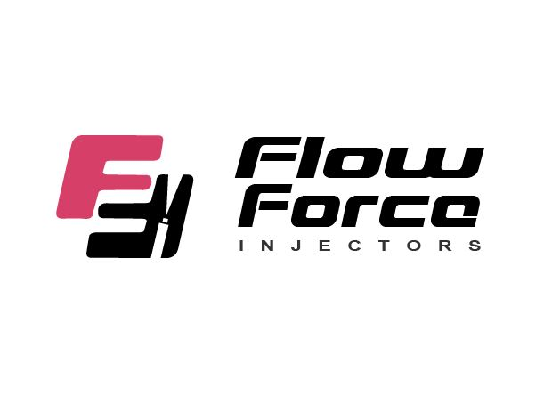 Logo Design by Wilfred Ponseca - Entry No. 22 in the Logo Design Contest Fun Logo Design for Flow Force Injectors.