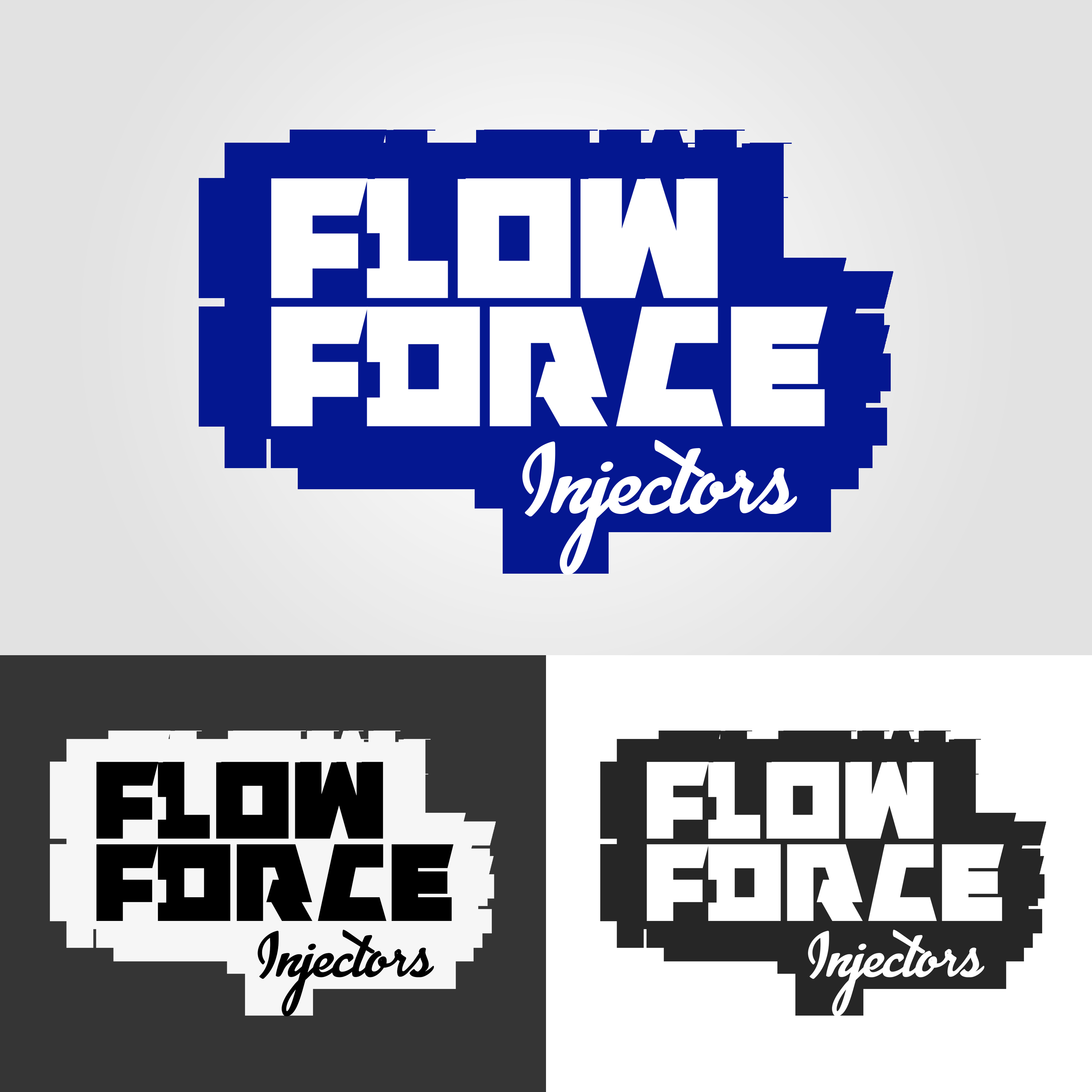 Logo Design by kree-eyt - Entry No. 25 in the Logo Design Contest Fun Logo Design for Flow Force Injectors.