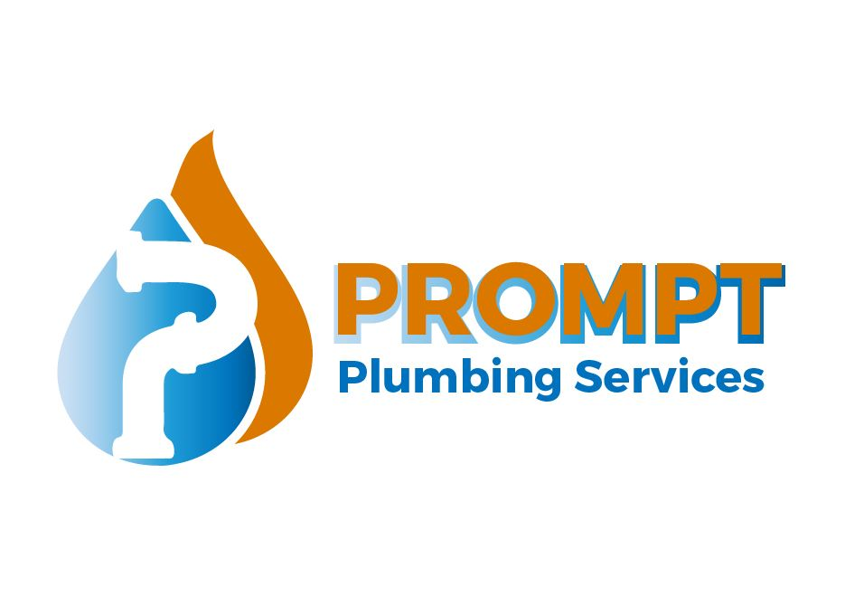 Logo Design by Wilfred Ponseca - Entry No. 30 in the Logo Design Contest Artistic Logo Design for Prompt Plumbing Services.
