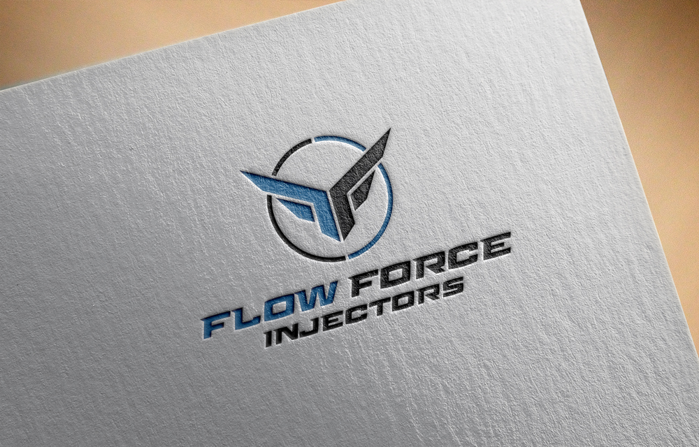 Logo Design by Tauhid Shaikh - Entry No. 31 in the Logo Design Contest Fun Logo Design for Flow Force Injectors.