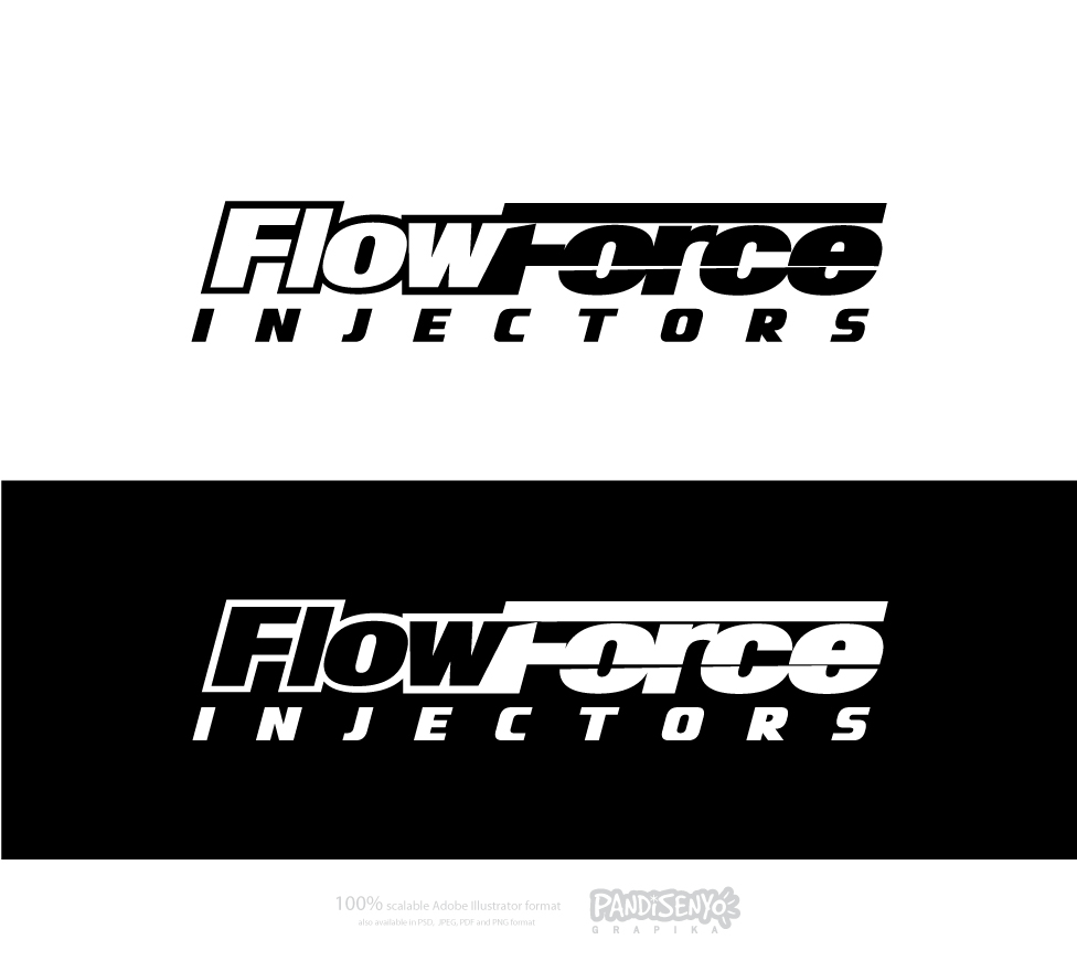 Logo Design by pandisenyo - Entry No. 32 in the Logo Design Contest Fun Logo Design for Flow Force Injectors.