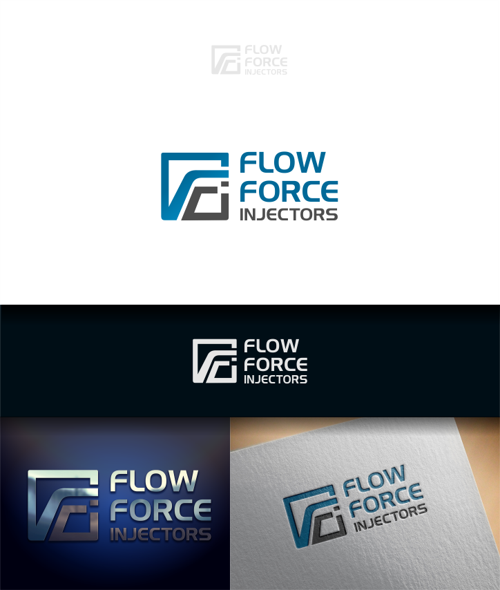 Logo Design by Raymond Garcia - Entry No. 33 in the Logo Design Contest Fun Logo Design for Flow Force Injectors.
