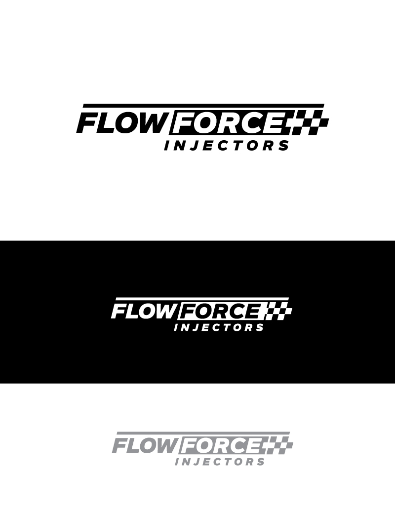 Logo Design by Tauhid Shaikh - Entry No. 34 in the Logo Design Contest Fun Logo Design for Flow Force Injectors.
