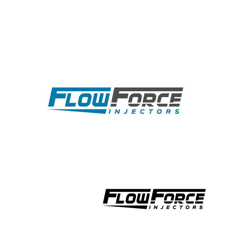 Logo Design by Tauhid Shaikh - Entry No. 36 in the Logo Design Contest Fun Logo Design for Flow Force Injectors.