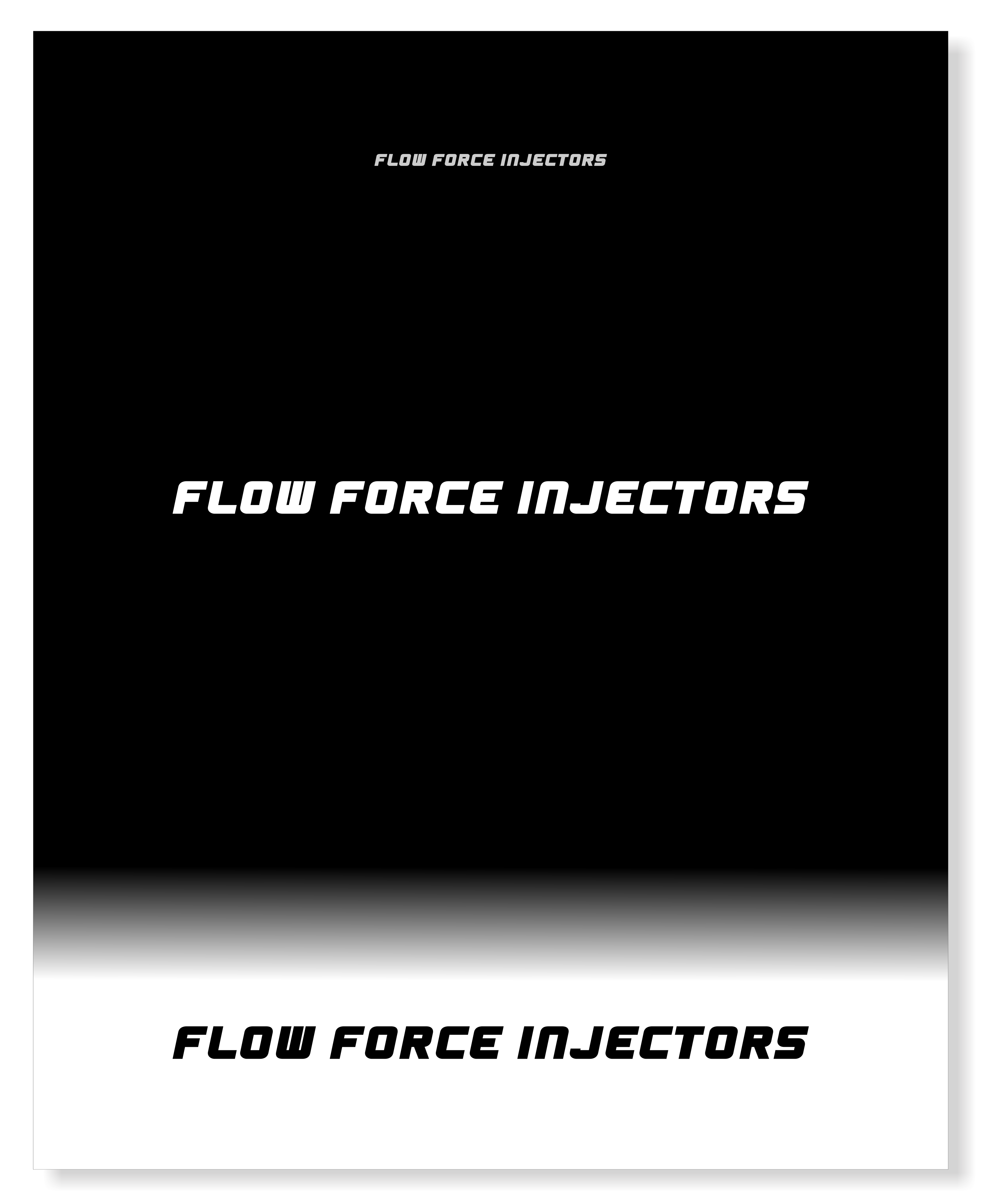 Logo Design by snow - Entry No. 37 in the Logo Design Contest Fun Logo Design for Flow Force Injectors.