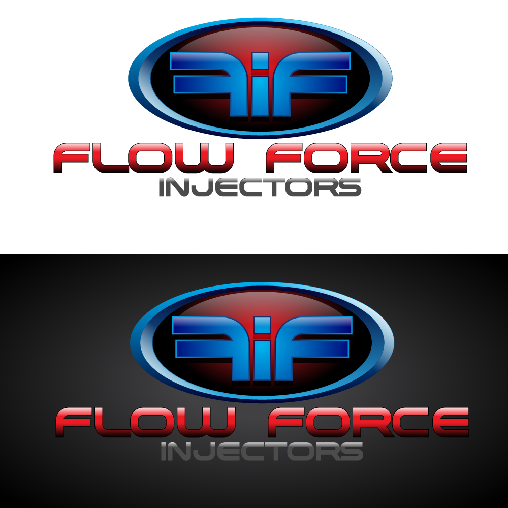 Logo Design by Runz - Entry No. 39 in the Logo Design Contest Fun Logo Design for Flow Force Injectors.