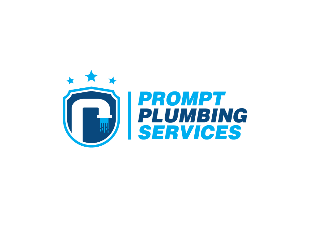 Logo Design by danelav - Entry No. 41 in the Logo Design Contest Artistic Logo Design for Prompt Plumbing Services.