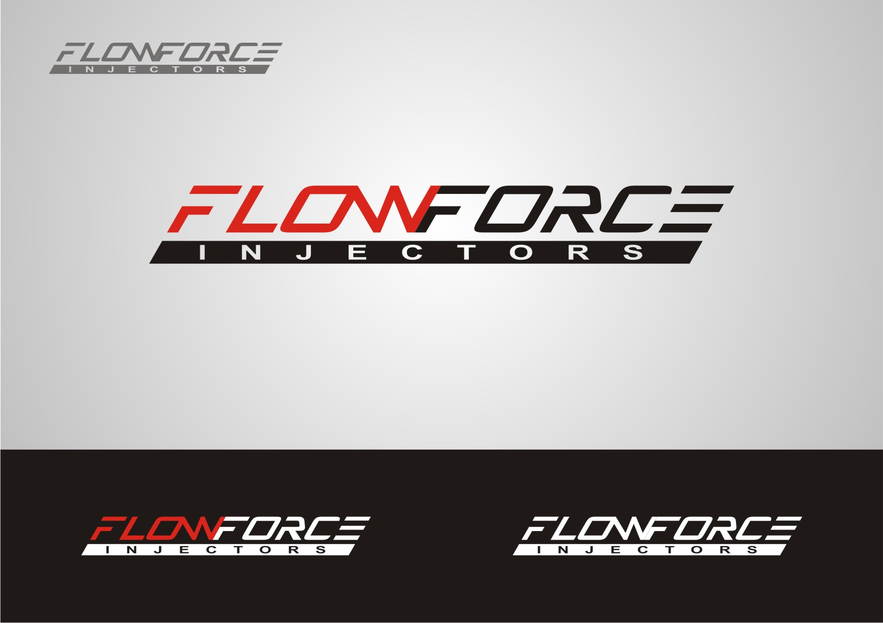 Logo Design by Private User - Entry No. 41 in the Logo Design Contest Fun Logo Design for Flow Force Injectors.