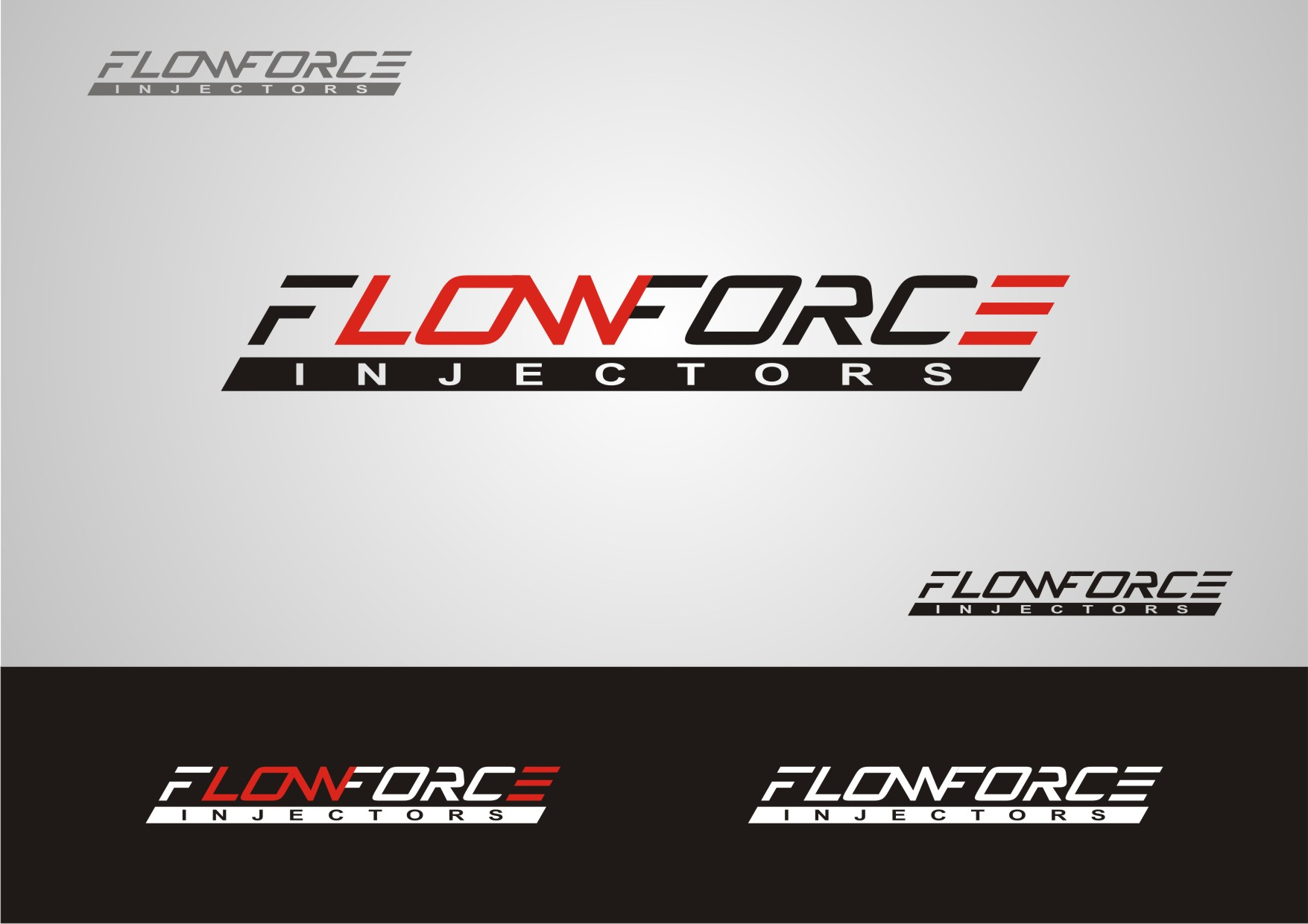 Logo Design by Private User - Entry No. 42 in the Logo Design Contest Fun Logo Design for Flow Force Injectors.