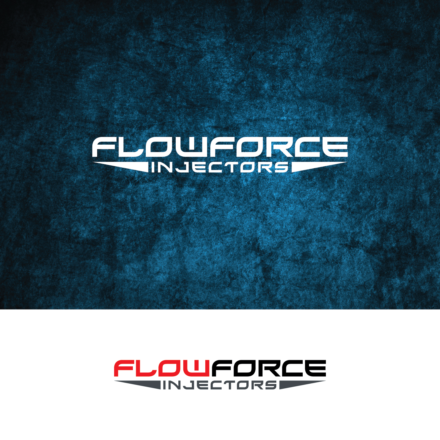 Logo Design by Shahab Uddin - Entry No. 44 in the Logo Design Contest Fun Logo Design for Flow Force Injectors.