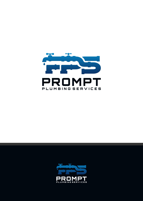 Logo Design by DANANG PRASETYO - Entry No. 42 in the Logo Design Contest Artistic Logo Design for Prompt Plumbing Services.