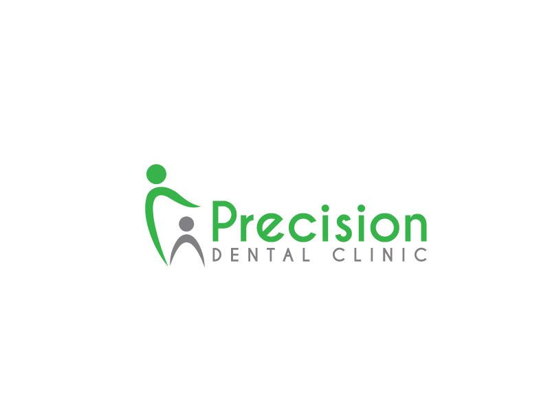 Logo Design by Private User - Entry No. 4 in the Logo Design Contest Captivating Logo Design for Precision Dental Clinic.