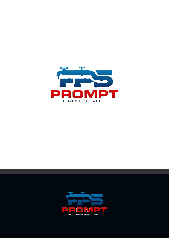 Logo Design by DANANG PRASETYO - Entry No. 47 in the Logo Design Contest Artistic Logo Design for Prompt Plumbing Services.