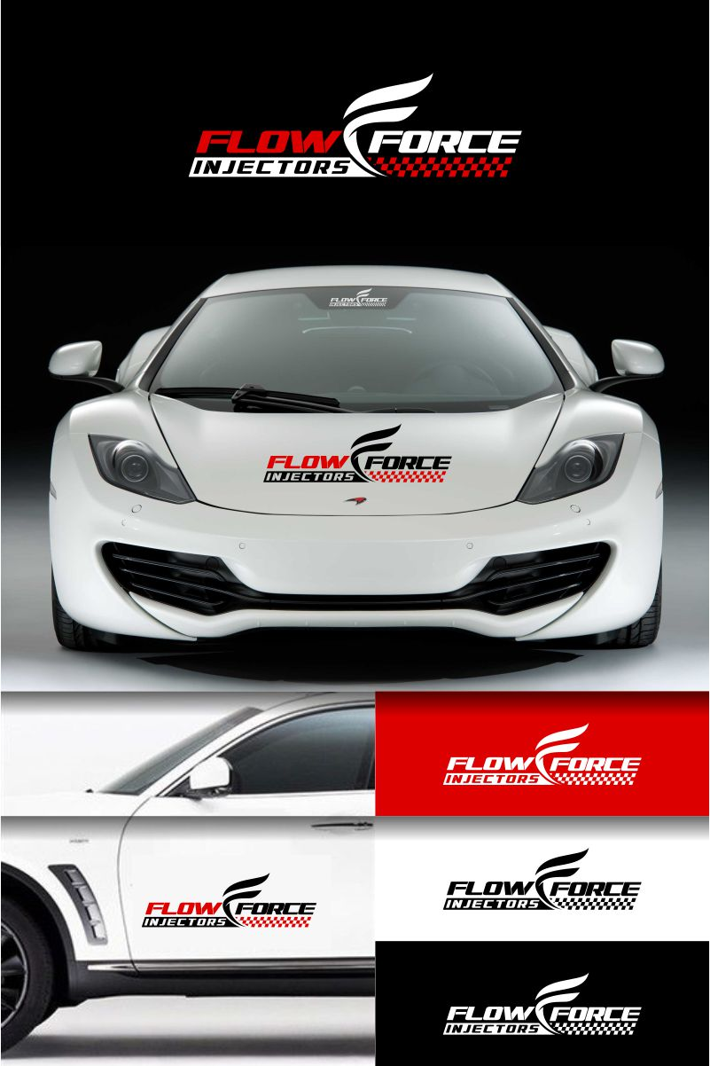Logo Design by Raymond Garcia - Entry No. 51 in the Logo Design Contest Fun Logo Design for Flow Force Injectors.