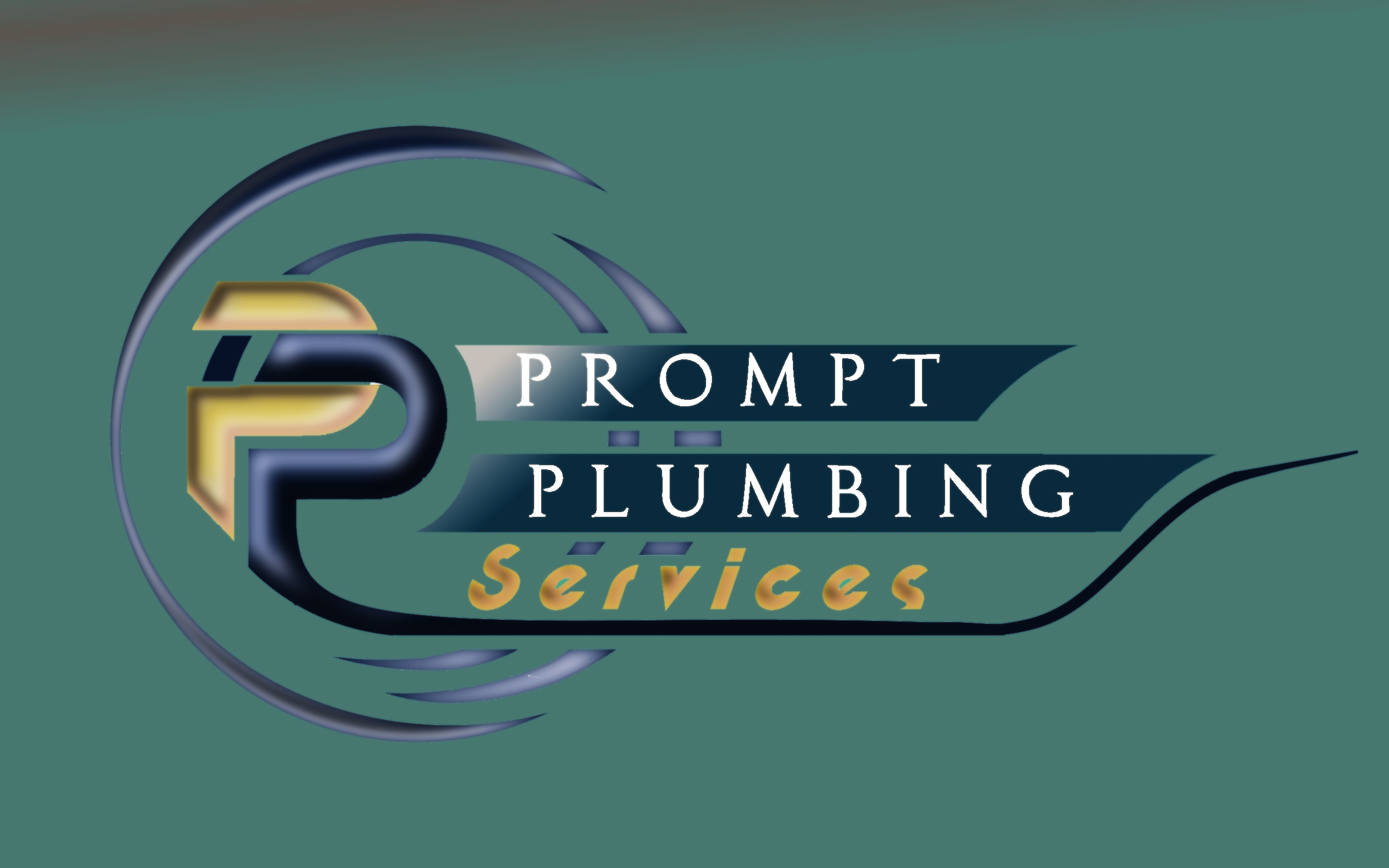 Logo Design by Roberto Bassi - Entry No. 55 in the Logo Design Contest Artistic Logo Design for Prompt Plumbing Services.