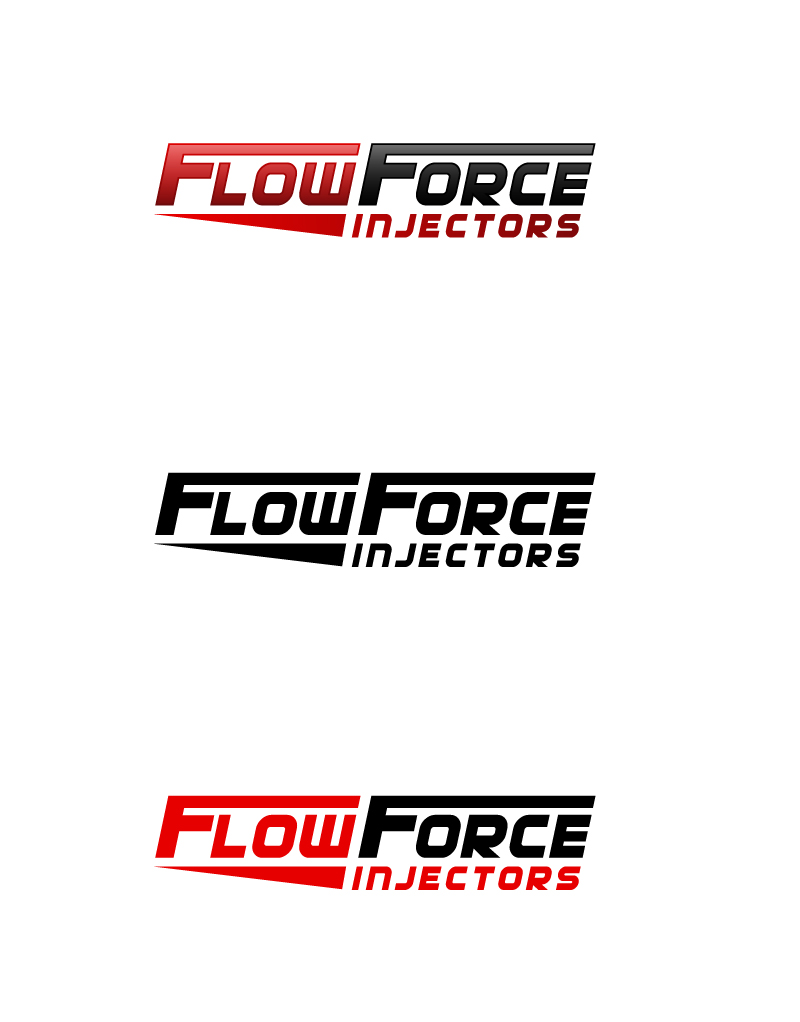 Logo Design by Tauhid Shaikh - Entry No. 53 in the Logo Design Contest Fun Logo Design for Flow Force Injectors.