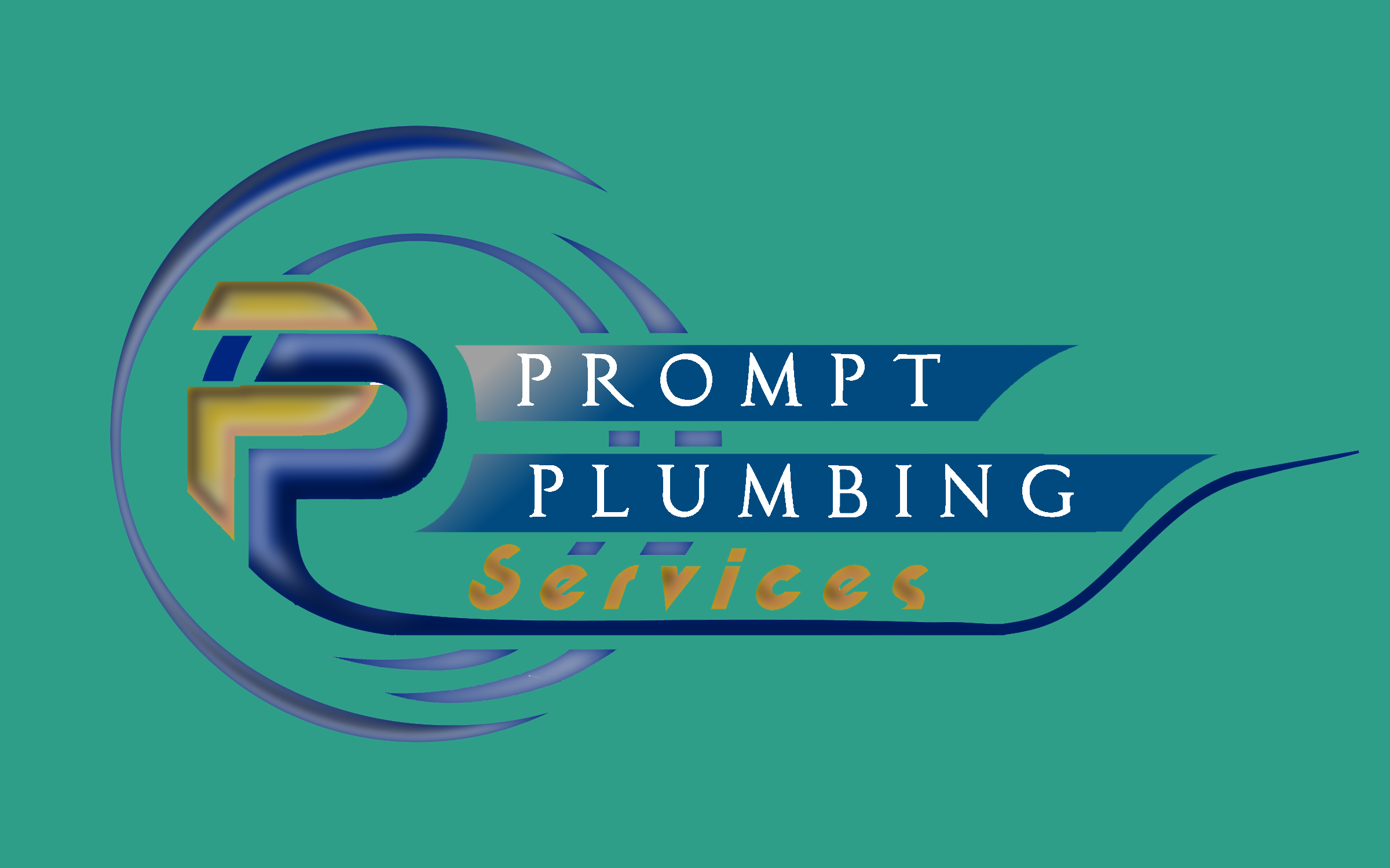 Logo Design by Roberto Bassi - Entry No. 56 in the Logo Design Contest Artistic Logo Design for Prompt Plumbing Services.