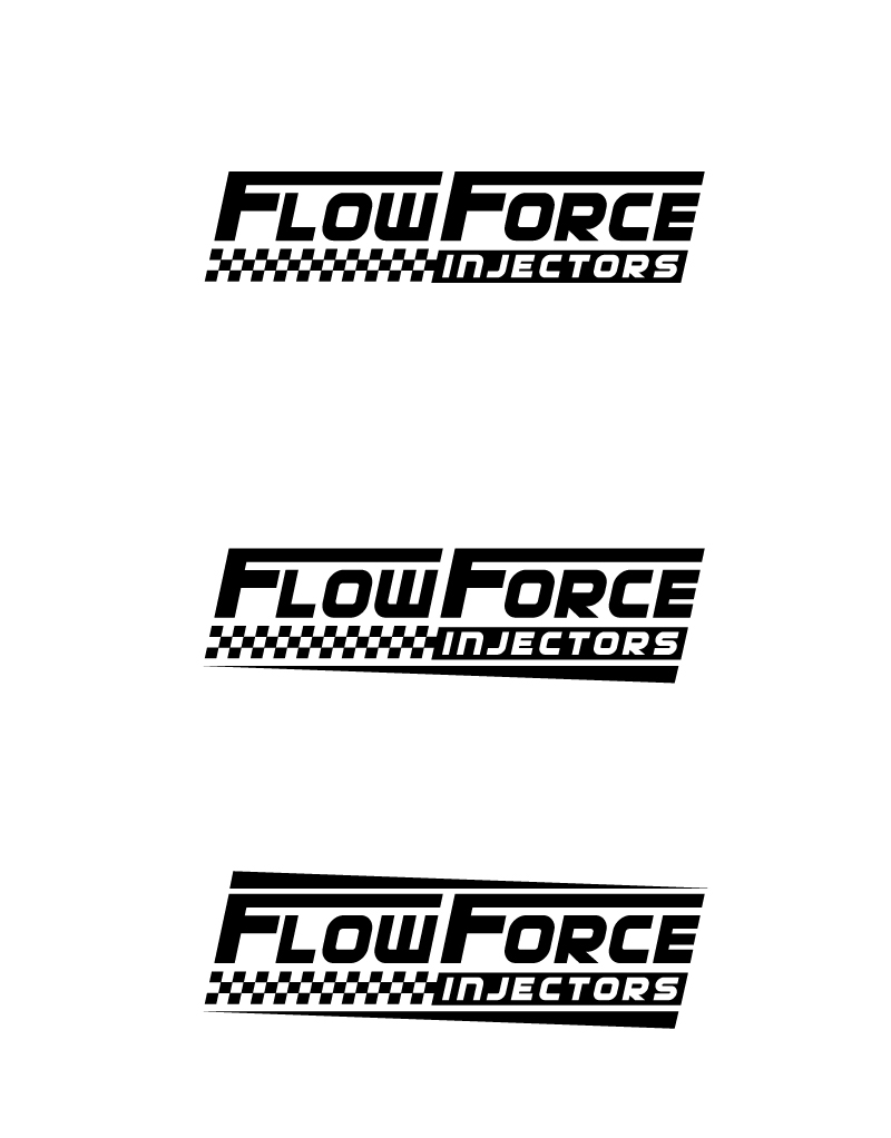 Logo Design by Tauhid Shaikh - Entry No. 54 in the Logo Design Contest Fun Logo Design for Flow Force Injectors.