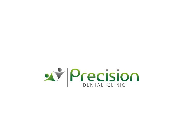 Logo Design by Ahaan - Entry No. 15 in the Logo Design Contest Captivating Logo Design for Precision Dental Clinic.