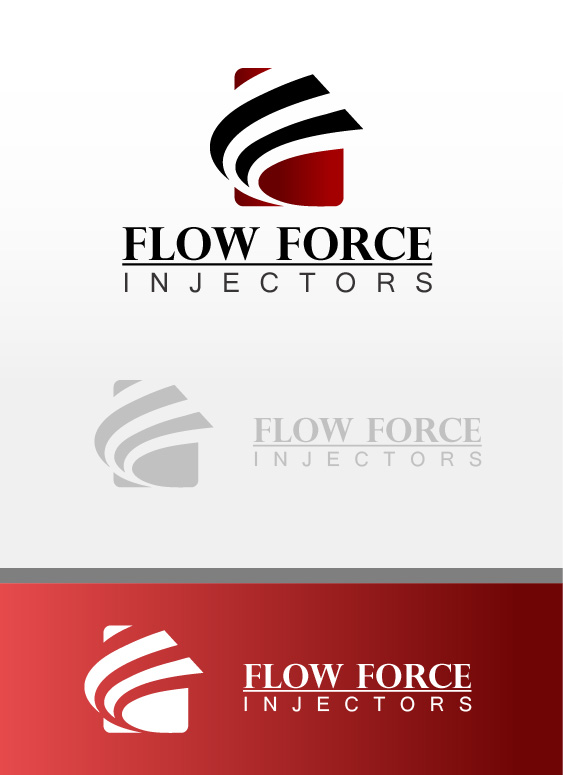 Logo Design by Arsalan Waheed - Entry No. 57 in the Logo Design Contest Fun Logo Design for Flow Force Injectors.