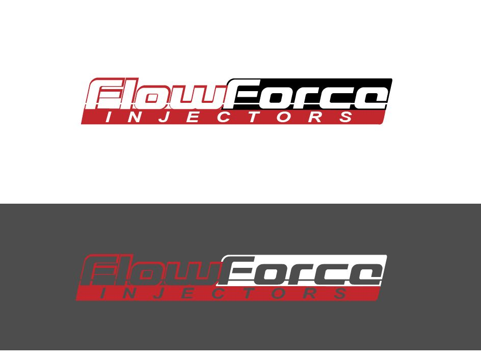 Logo Design by Wilfred Ponseca - Entry No. 58 in the Logo Design Contest Fun Logo Design for Flow Force Injectors.