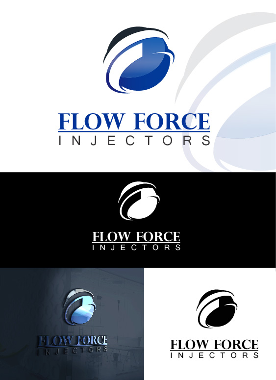 Logo Design by Arsalan Waheed - Entry No. 60 in the Logo Design Contest Fun Logo Design for Flow Force Injectors.