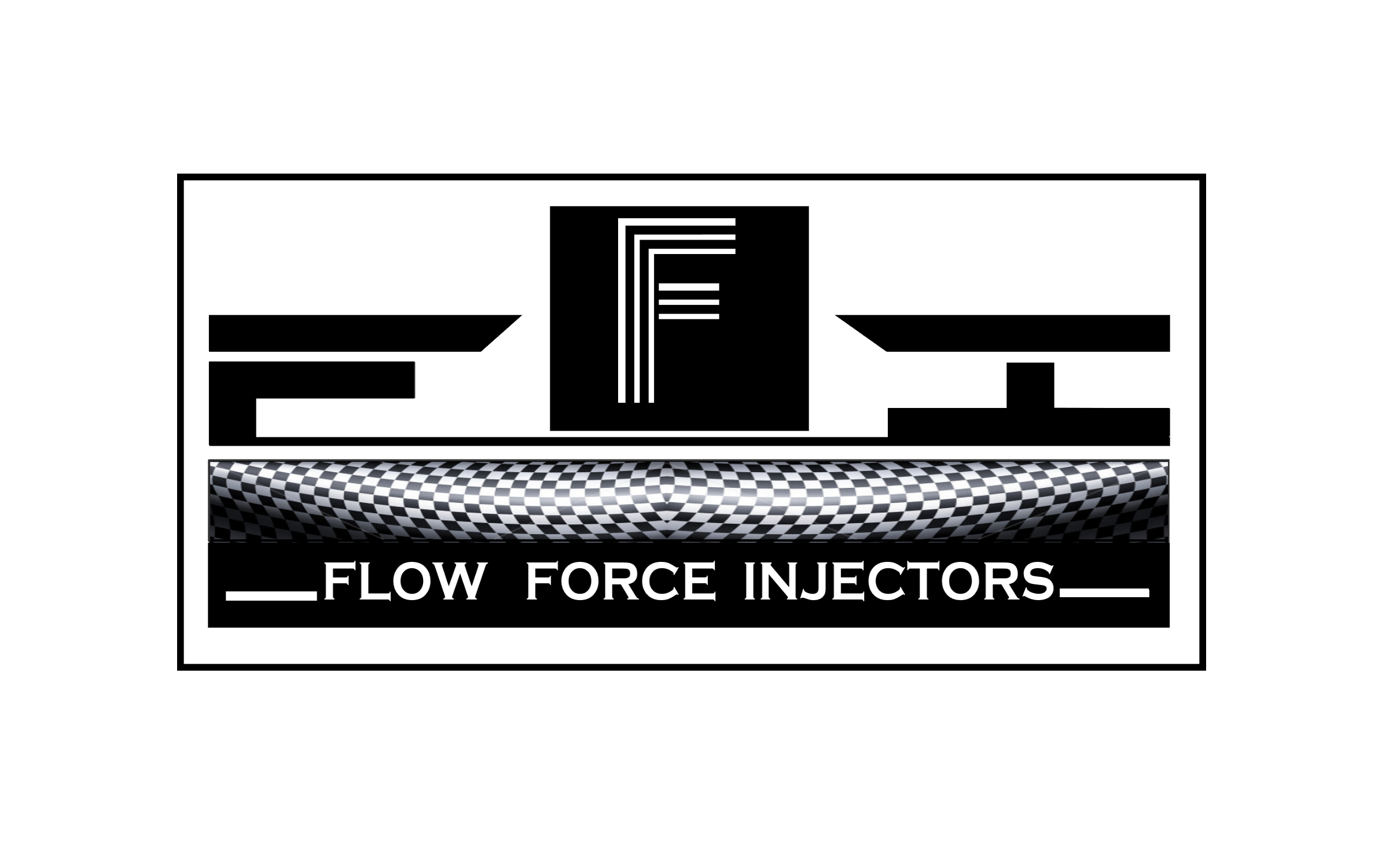 Logo Design by Roberto Bassi - Entry No. 61 in the Logo Design Contest Fun Logo Design for Flow Force Injectors.