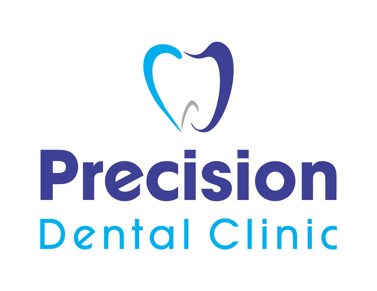 Logo Design by Designer_17 - Entry No. 18 in the Logo Design Contest Captivating Logo Design for Precision Dental Clinic.