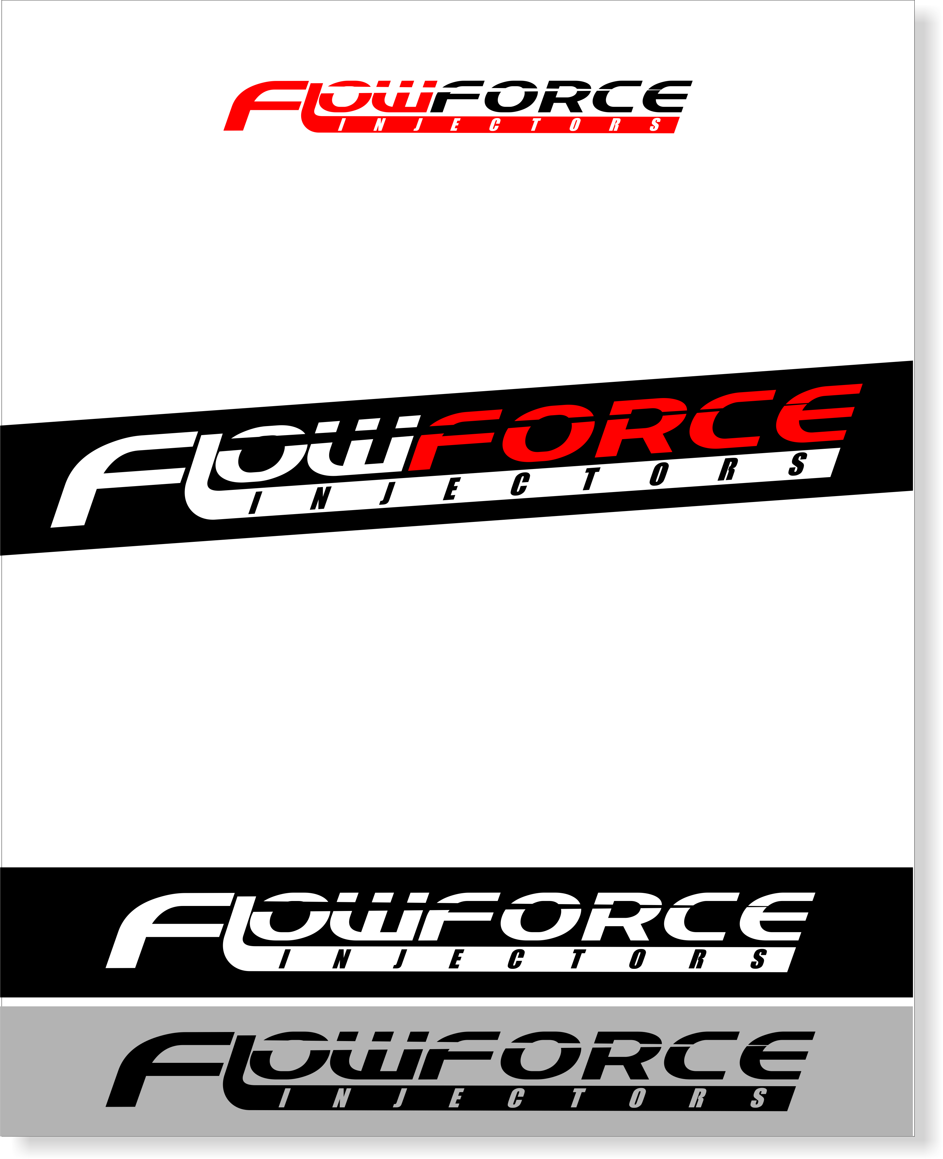 Logo Design by snow - Entry No. 67 in the Logo Design Contest Fun Logo Design for Flow Force Injectors.