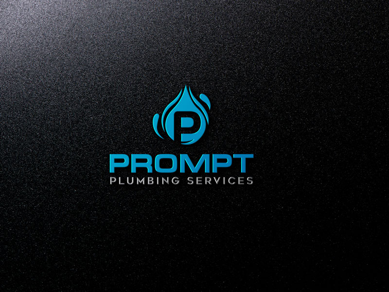 Logo Design by ARABICA Ibrahim - Entry No. 66 in the Logo Design Contest Artistic Logo Design for Prompt Plumbing Services.