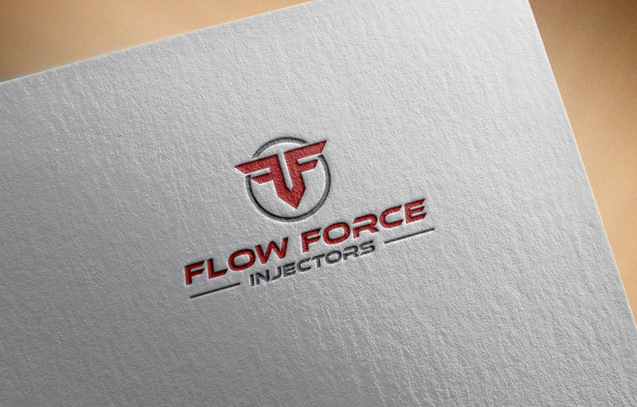 Logo Design by Private User - Entry No. 70 in the Logo Design Contest Fun Logo Design for Flow Force Injectors.