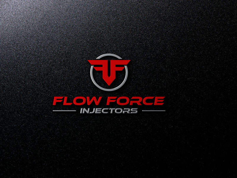 Logo Design by Private User - Entry No. 71 in the Logo Design Contest Fun Logo Design for Flow Force Injectors.