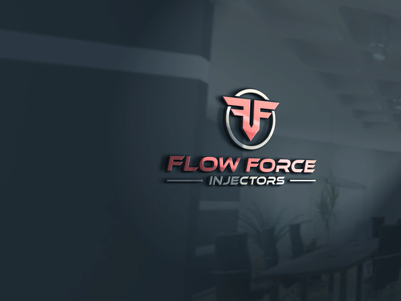 Logo Design by Private User - Entry No. 74 in the Logo Design Contest Fun Logo Design for Flow Force Injectors.