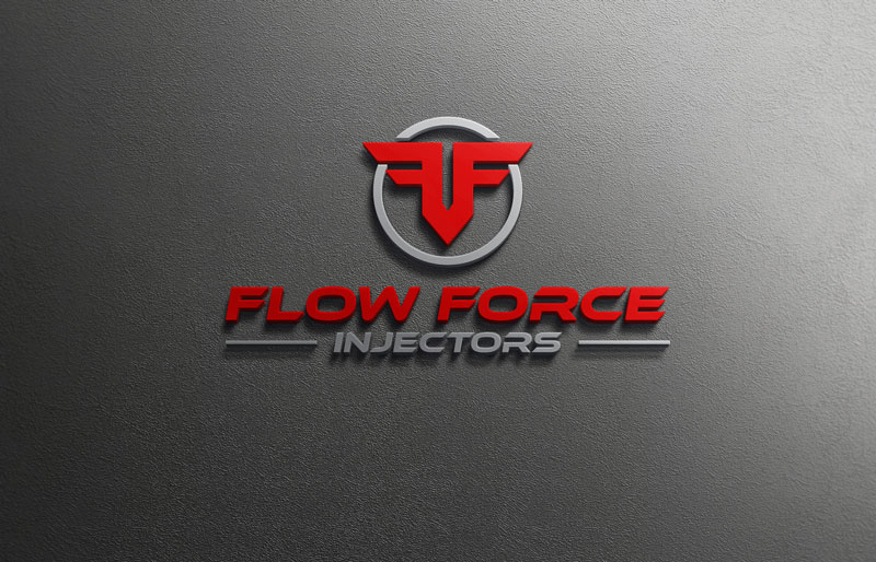 Logo Design by Private User - Entry No. 75 in the Logo Design Contest Fun Logo Design for Flow Force Injectors.