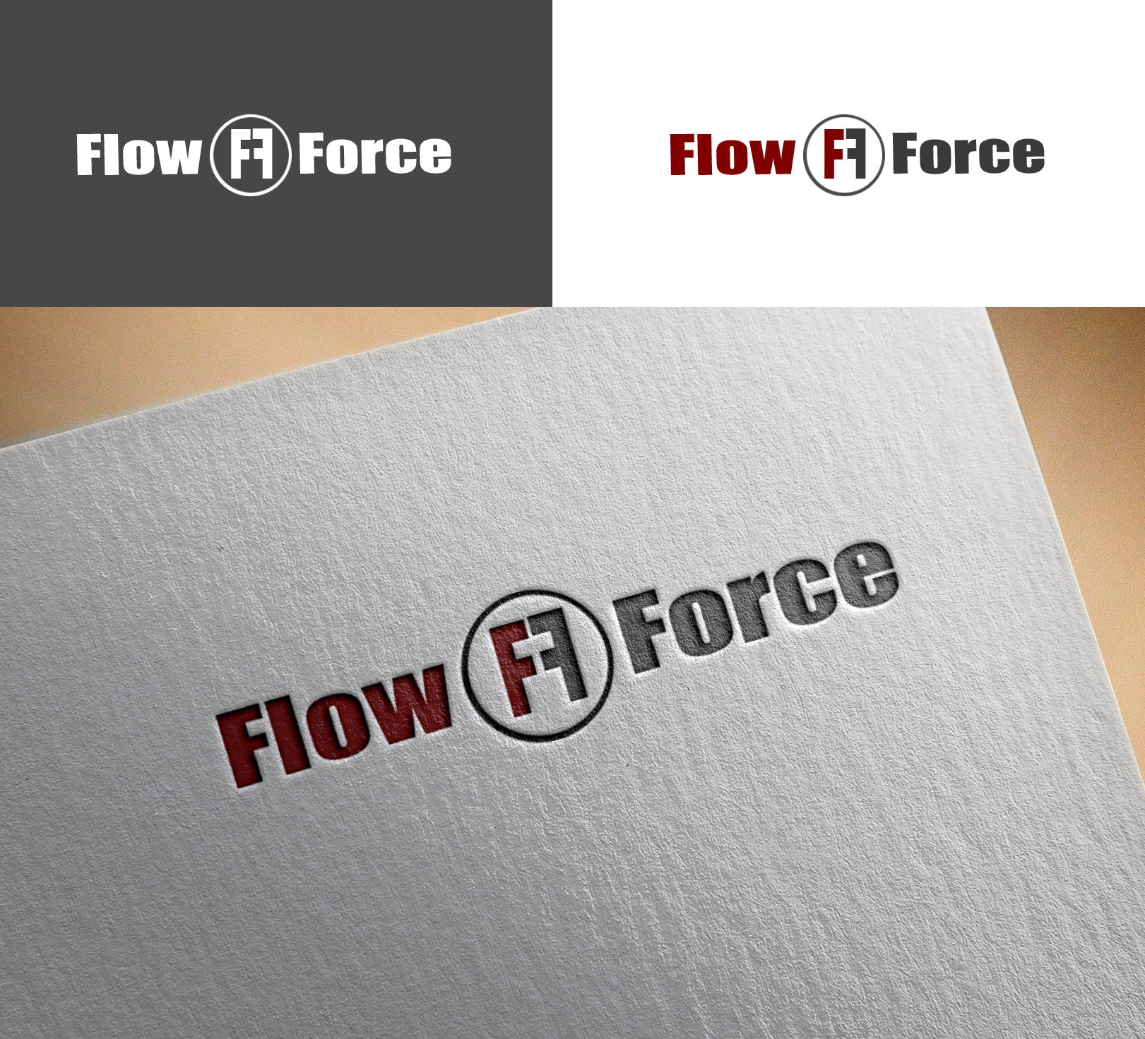 Logo Design by Sohaib Ali Khan - Entry No. 80 in the Logo Design Contest Fun Logo Design for Flow Force Injectors.