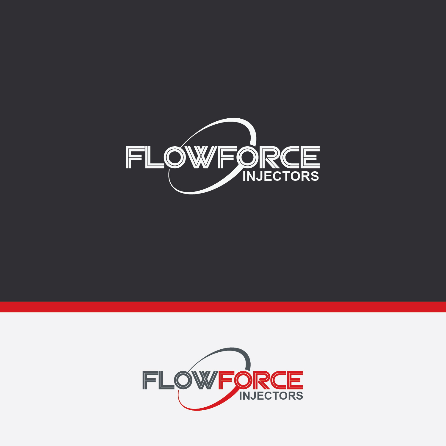 Logo Design by Shahab Uddin - Entry No. 88 in the Logo Design Contest Fun Logo Design for Flow Force Injectors.