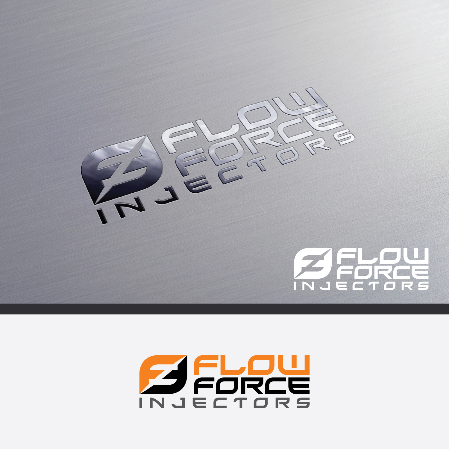 Logo Design by Shahab Uddin - Entry No. 90 in the Logo Design Contest Fun Logo Design for Flow Force Injectors.