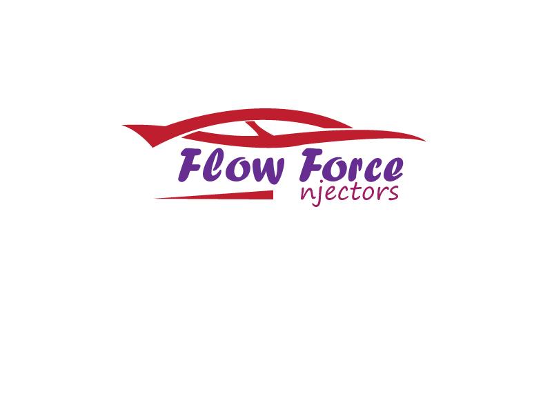 Logo Design by Monirul Islam Kibria - Entry No. 95 in the Logo Design Contest Fun Logo Design for Flow Force Injectors.