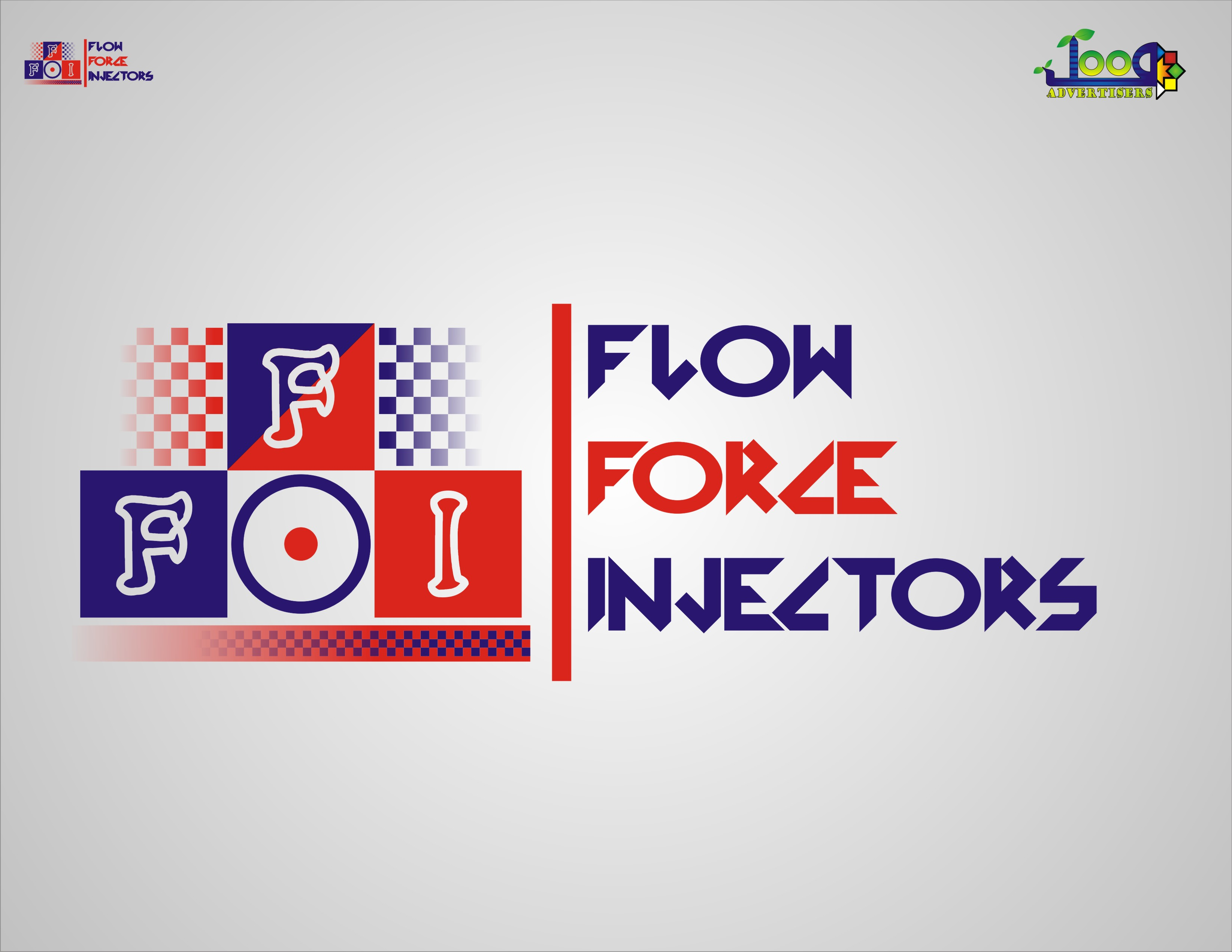Logo Design by Jawad Shabbir - Entry No. 96 in the Logo Design Contest Fun Logo Design for Flow Force Injectors.