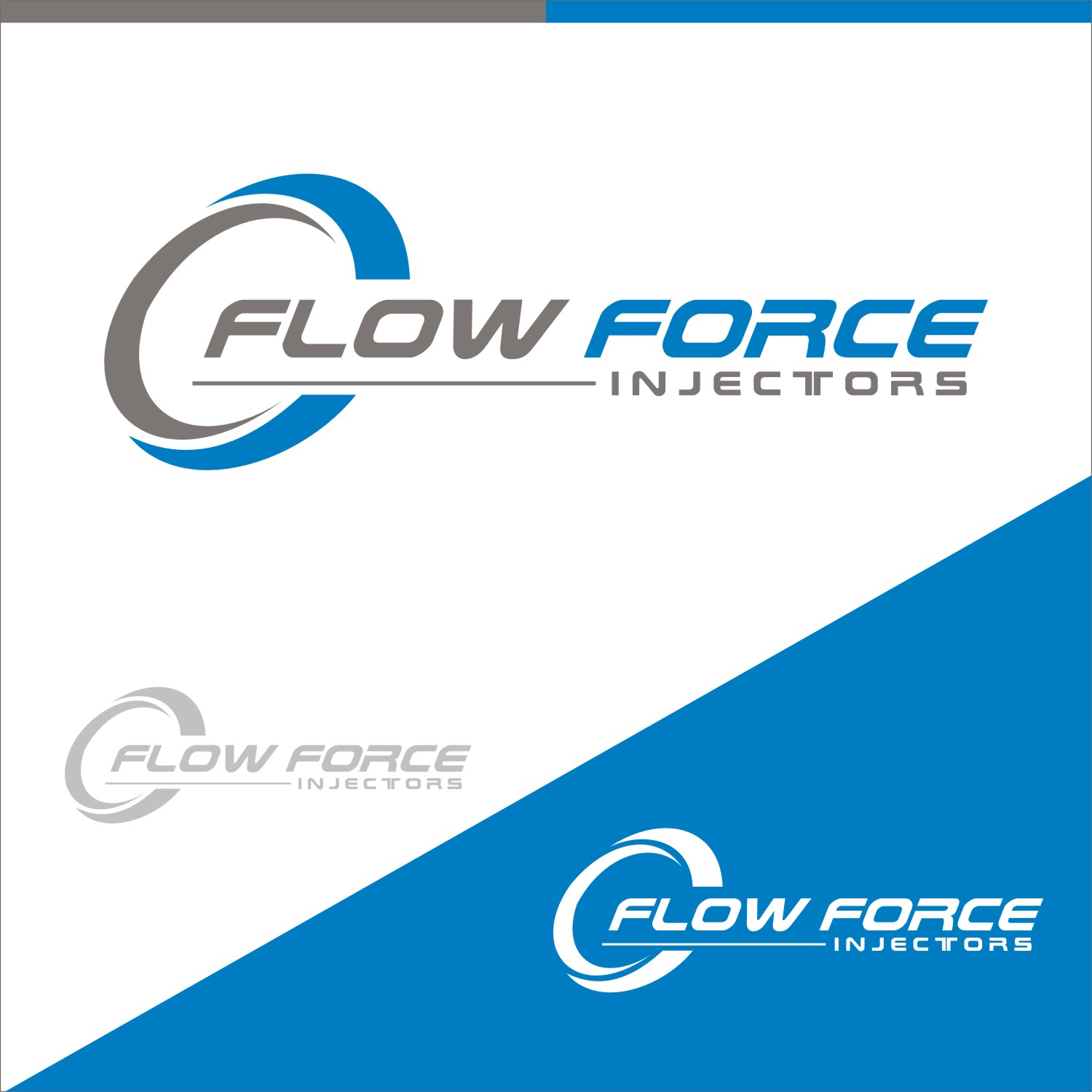 Logo Design by gryphon - Entry No. 98 in the Logo Design Contest Fun Logo Design for Flow Force Injectors.