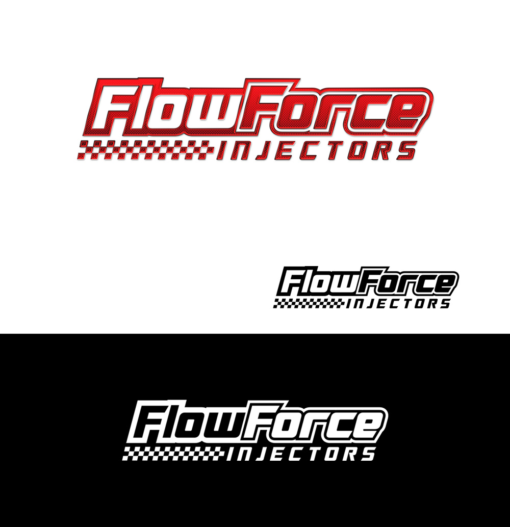 Logo Design by Tauhid Shaikh - Entry No. 103 in the Logo Design Contest Fun Logo Design for Flow Force Injectors.