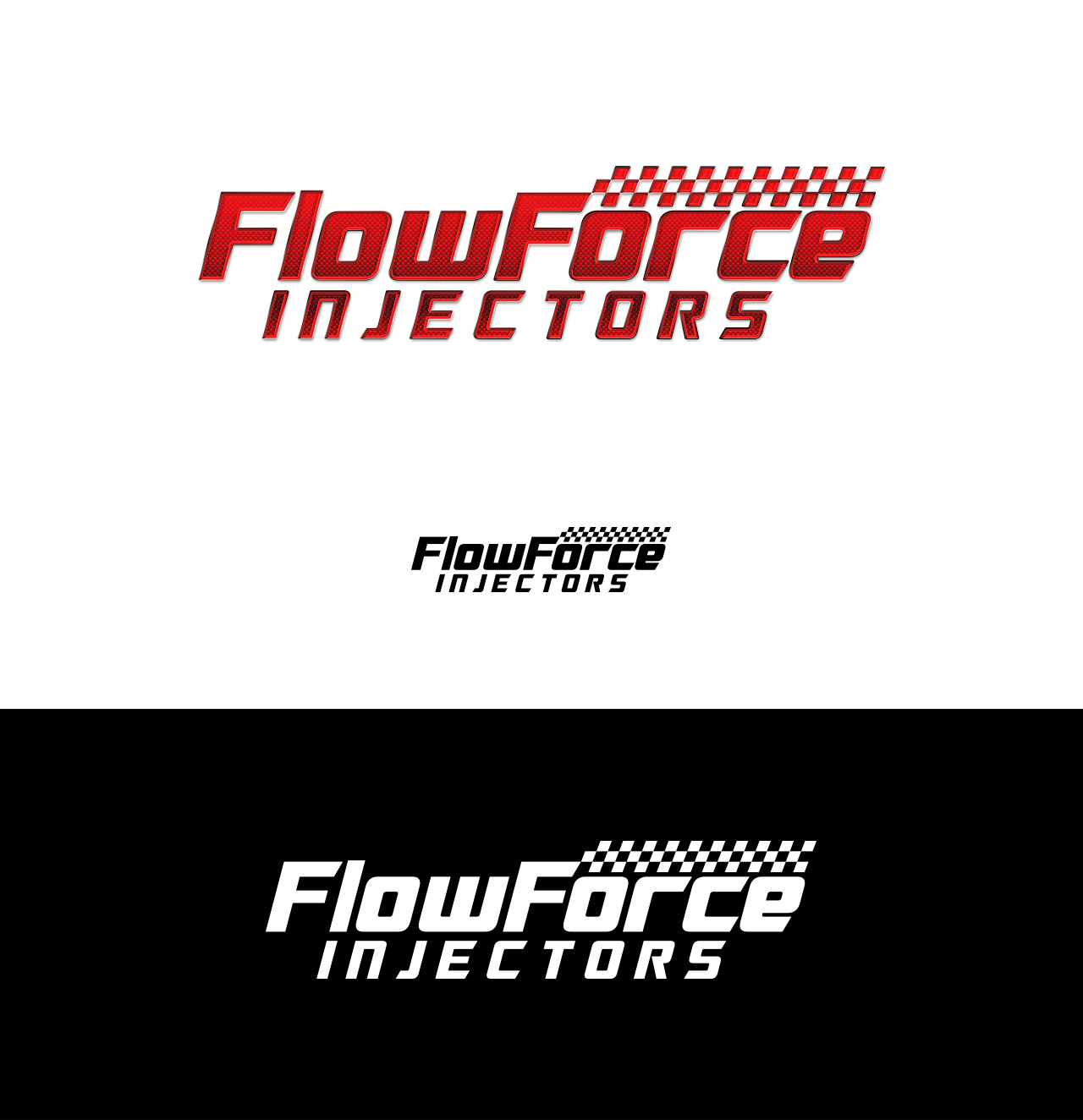 Logo Design by Tauhid Shaikh - Entry No. 104 in the Logo Design Contest Fun Logo Design for Flow Force Injectors.