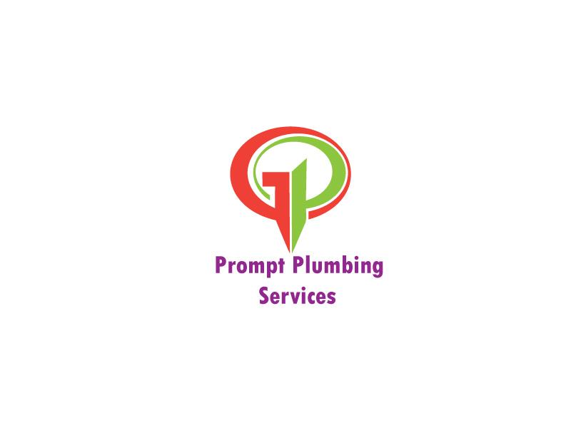 Logo Design by Monirul Islam Kibria - Entry No. 76 in the Logo Design Contest Artistic Logo Design for Prompt Plumbing Services.