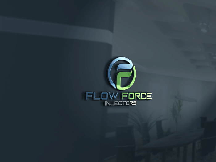 Logo Design by Mohammad azad Hossain - Entry No. 105 in the Logo Design Contest Fun Logo Design for Flow Force Injectors.