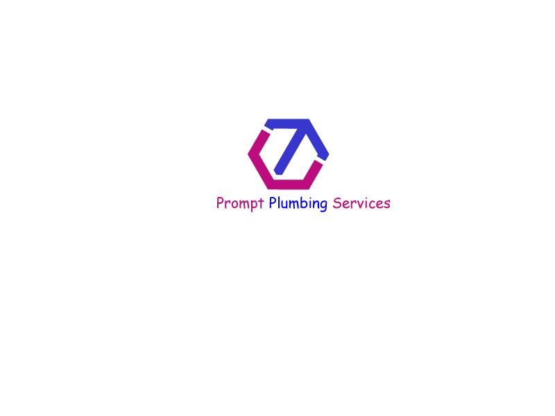 Logo Design by Monirul Islam Kibria - Entry No. 77 in the Logo Design Contest Artistic Logo Design for Prompt Plumbing Services.